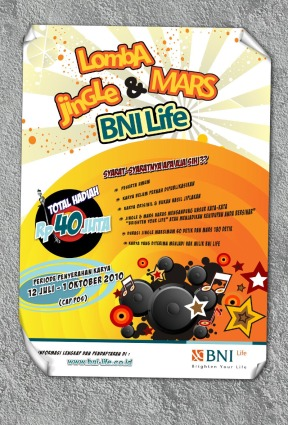 Poster Lomba Jingle & Mars BNI Life
