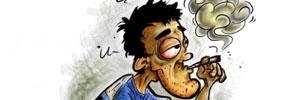 bjoetejo, ilustrasi, smoker, kartun indonesia