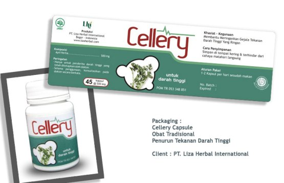 bjoetejo, desain kemasan, packaging design, Cellery, Seledri, liza herbal international